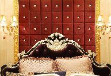 艾美软装黄曼露设计师作品\欧式样板房软装案例